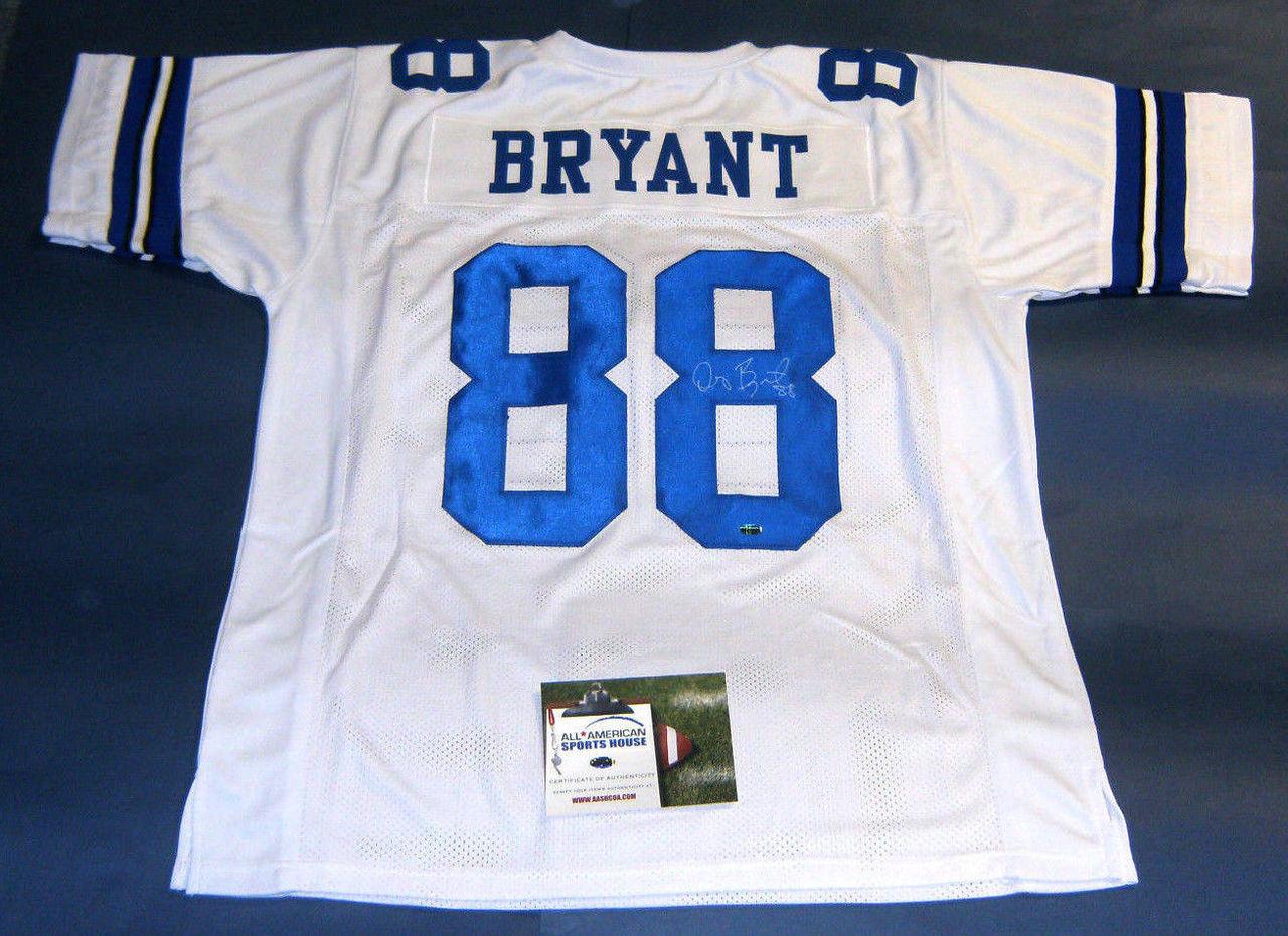 Dez Bryant Autographed Dallas Cowboys Jersey Aash
