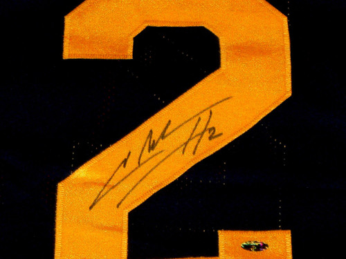 size 40 873bb 5e45e CHARLES WOODSON AUTOGRAPHED MICHIGAN WOLVERINES JERSEY UM AASH HEISMAN