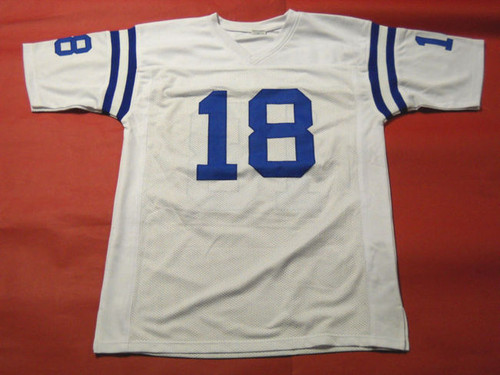 best service 2e67b 9cd9f PEYTON MANNING AUTOGRAPHED INDIANAPOLIS COLTS JERSEY AASH