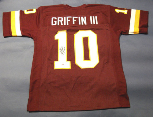 the best attitude f7319 15422 ROBERT GRIFFIN III AUTOGRAPHED WASHINGTON REDSKINS JERSEY PSA DNA RG3