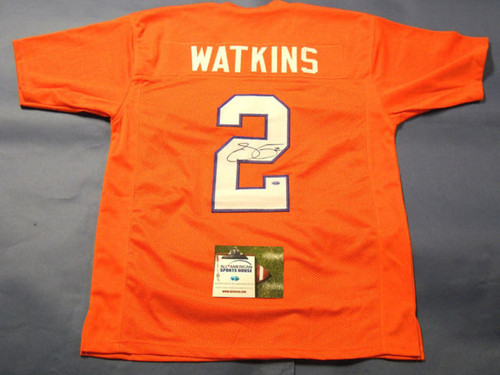 finest selection 042f8 f0c3f Brian Dawkins Authentic Style Custom Clemson Tigers Jersey