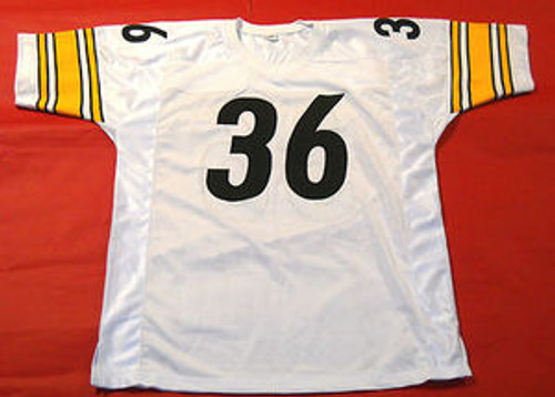 e91ca3b0f83 JEROME BETTIS AUTOGRAPHED PITTSBURGH STEELERS W JERSEY JSA THE BUS