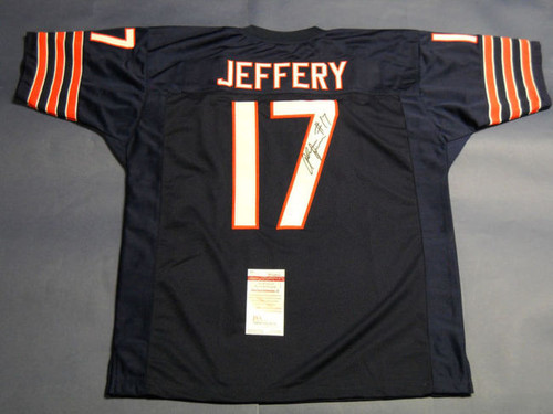 ALSHON JEFFERY AUTOGRAPHED CHICAGO BEARS JERSEY JSA