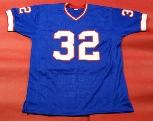 quality design ba194 3b72d OJ SIMPSON AUTOGRAPHED BUFFALO BILLS STAT THROWBACK JERSEY AASH READ  DISCOUNT