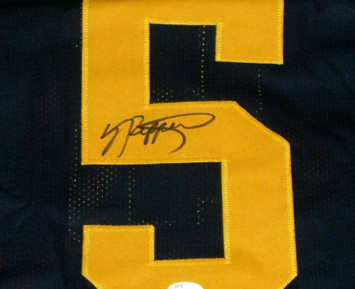 the best attitude bf8c1 c27f8 JABRILL PEPPERS AUTOGRAPHED MICHIGAN WOLVERINES JERSEY JSA UM