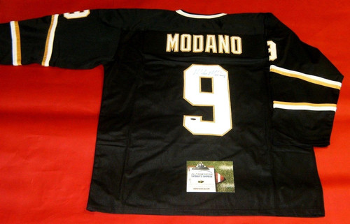 MIKE MODANO AUTOGRAPHED DALLAS STARS JERSEY AASH