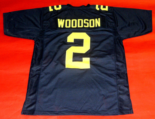 CHARLES WOODSON CUSTOM MICHIGAN WOLVERINES SH JERSEY