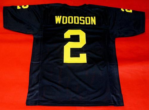 CHARLES WOODSON CUSTOM MICHIGAN WOLVERINES JERSEY