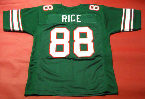 JERRY RICE CUSTOM MISSISSIPPI VALLEY STATE DELTA DEVILS JERSEY