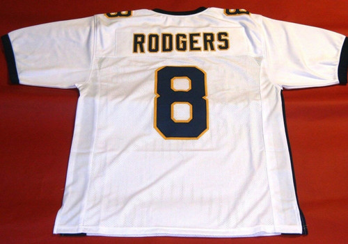 AARON RODGERS CUSTOM CALIFORNIA BEARS W JERSEY CAL