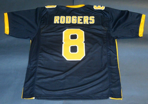 AARON RODGERS CUSTOM CALIFORNIA BEARS JERSEY CAL
