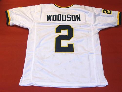 CHARLES WOODSON CUSTOM MICHIGAN WOLVERINES W JERSEY