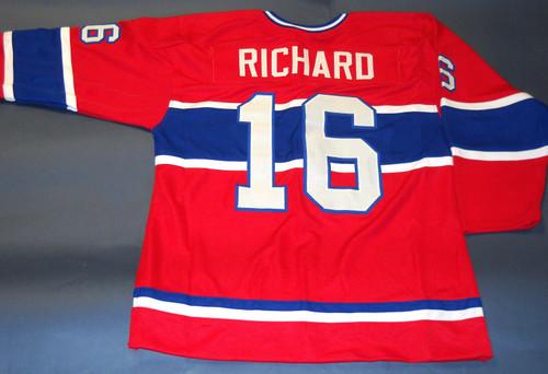 HENRI RICHARD CUSTOM MONTREAL CANADIENS THROWBACK JERSEY THE POCKET ROCKET
