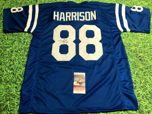 MARVIN HARRISON AUTOGRAPHED INDIANAPOLIS COLTS JERSEY JSA