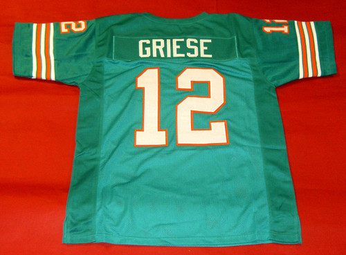 BOB GRIESE CUSTOM MIAMI DOLPHINS JERSEY