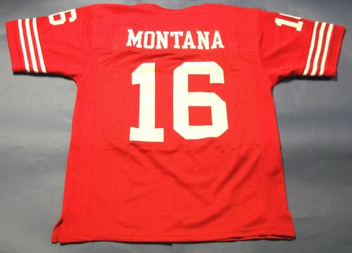 JOE MONTANA CUSTOM SAN FRANCISCO 49ERS JERSEY