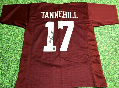 RYAN TANNEHILL AUTOGRAPHED TEXAS A&M AGGIES JERSEY RT HOLOGRAM