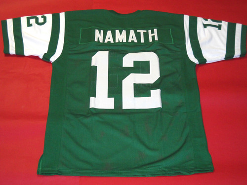 JOE NAMATH CUSTOM NEW YORK JETS JERSEY