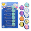 Assorted Diaper Pins - 6 Pack