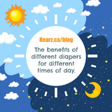The Benefits of Different Diapers for Different Times of Day