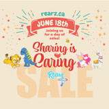 The Rearz Sharing Is Caring Sale!