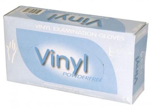 Vinyl Gloves - 100
