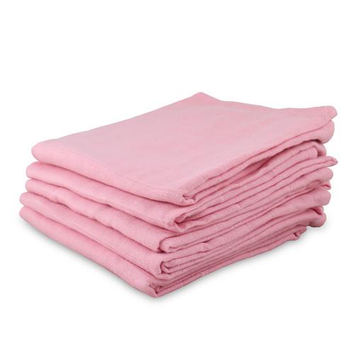 Organic Cotton Muslin Flat Diapers - 5