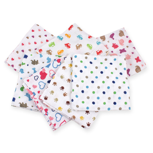 Felicity Cotton Muslin Flat - Assorted