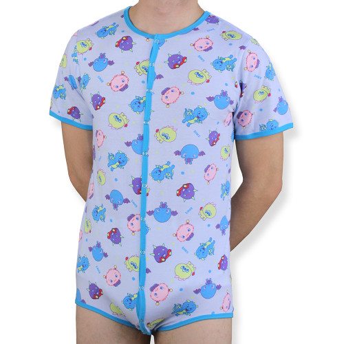Lil' Monsters Adult Snapsuit