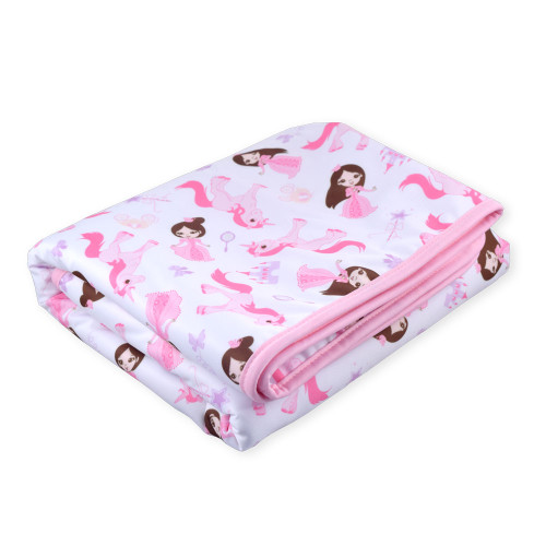 Princess Pink Change Pad / Bed Pad