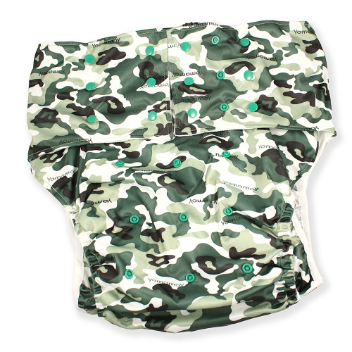Adult Pocket Diaper - Camo