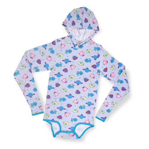 Lil' Monsters Hooded Adult Snapsuit