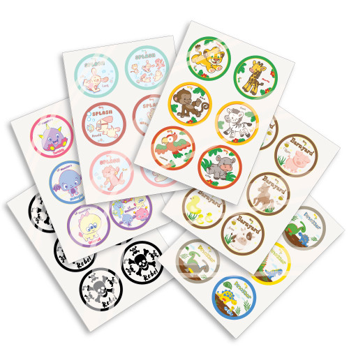Rearz Glossy Sticker Sheets