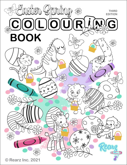 FREE Rearz Adult Colouring Book Vol. 3 - Downloadable