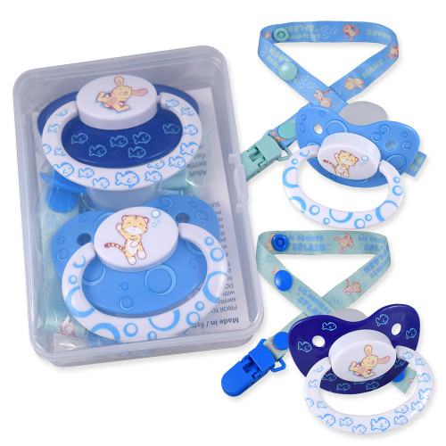 Lil Squirts Splash Pacifier and Clip 2 Pack