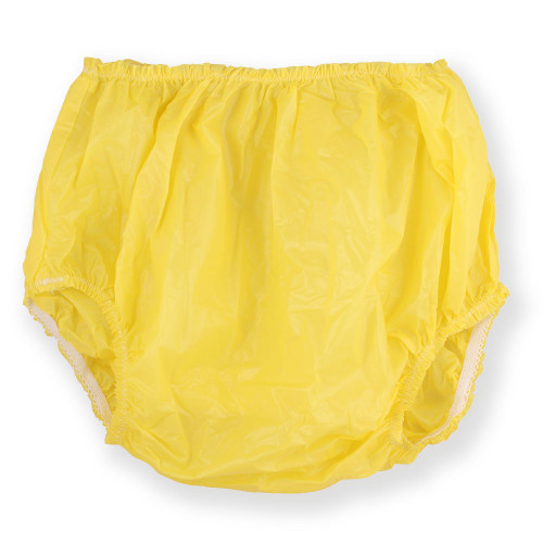 Christy Plastic Pants - Yellow