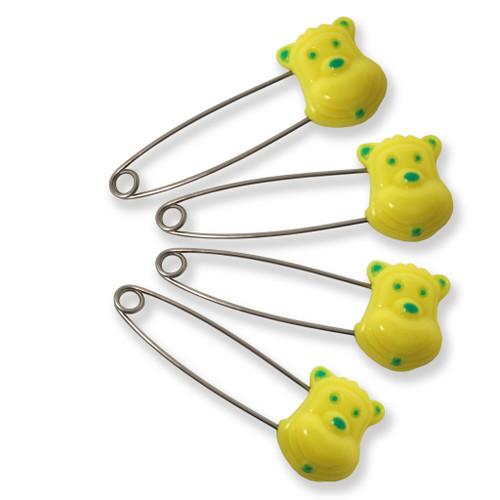 Comfort Bears Diaper Pins - 4 Pack