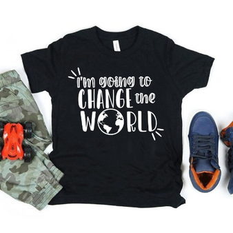 Change the World Toddler Shirt