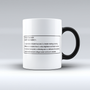 'Counselor' Defined Ceramic Mug