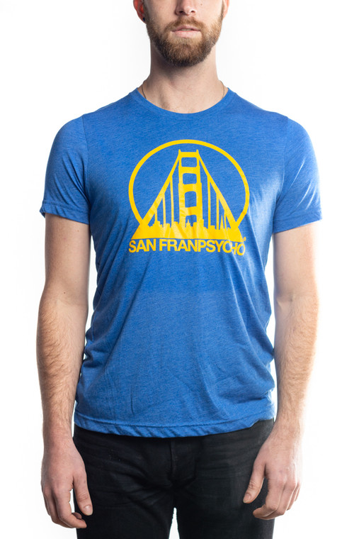 Blue & Gold Logo Tee