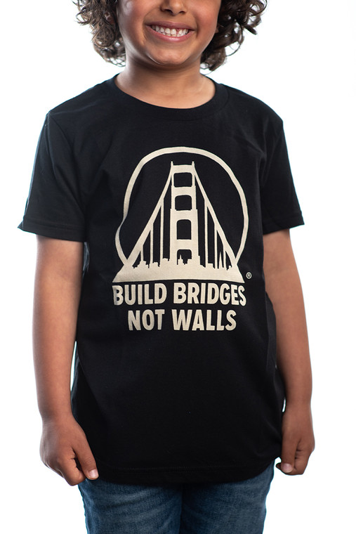 Build Bridges Not Walls Kids Tee
