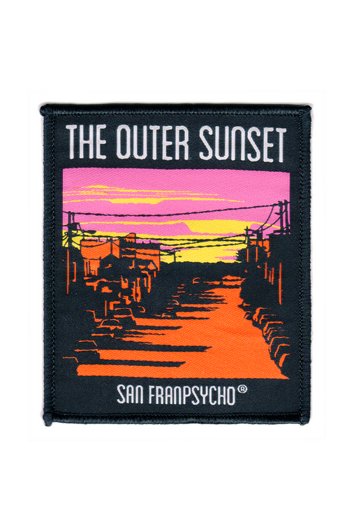 Outer Sunset Woven Patch