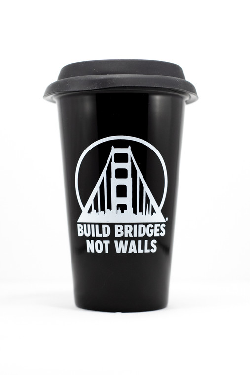 Build Bridges Not Walls Tumbler
