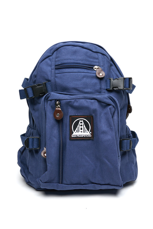 Small Blue Logo Backpack