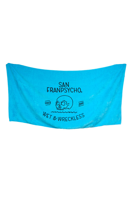 Turquoise Wet & Wreckless Towel