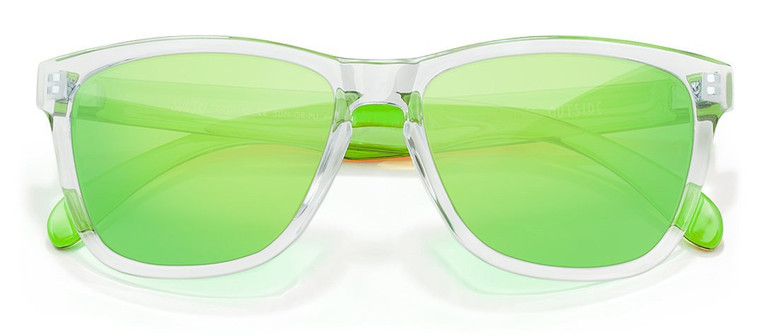 Sunski Original Clear Lime Sunglasses