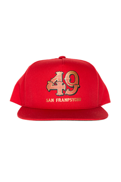 "Red SFP ""49"" Hat"