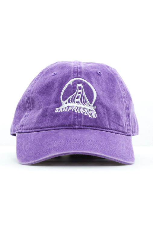 Purple Acid Logo Dad Hat