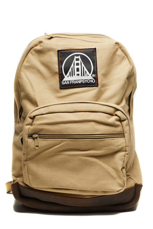 Khaki Backpack with SFP Patch