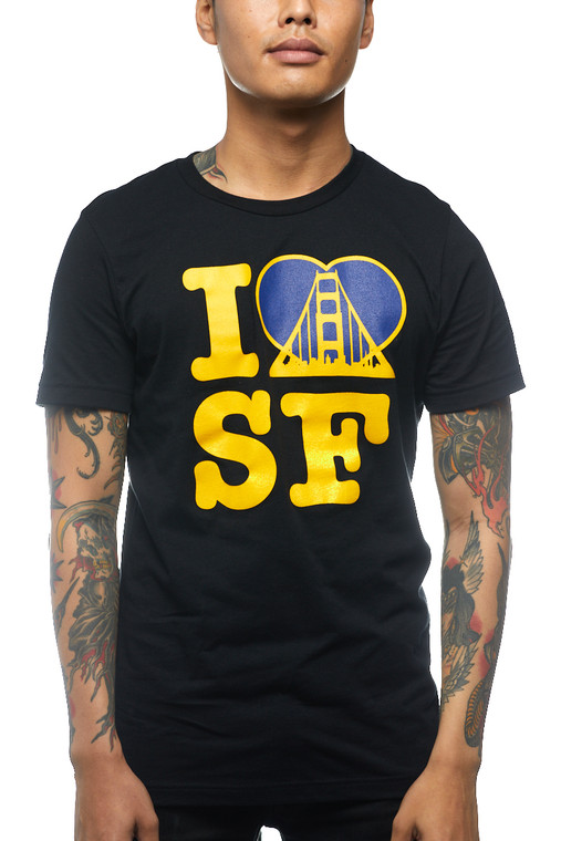 Black I Heart SF Tee